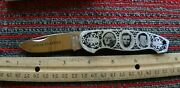 Parker Cut. Co. Born Leaders Canoe Knife Knives Made In Japan 1980and039s