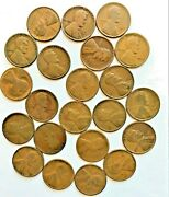 22 Teen Wheat Cents 1909 1910 1911-pd 1912 1913-pd 1914 1915-pd 1916-1919-pds 1
