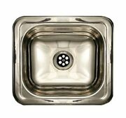 Rectangular Drop-in Entertainment/prep Sink With A Smooth Surface - Polished ...
