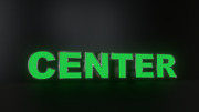 6pc Center Led Black Side Panels, Storefront Sign, Complete And Ready To Install