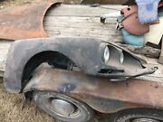 Citroen Ds 21/23 Front Right Fender Wing W/ Headlight Assembly - Free Shipping