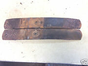 1966 Mustang Rear Spring Lower Leaf Plate Pair Part C4za-5556-m G1-6a