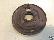 1964 1/2 1965 1966 Ford Mustang 6 Cyl 4 Lug Left Hand Front Brake Backing Plate