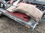 1929 Dodge Right Front Fender W/ Spare Tire Well And Bracket Parts