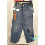 Vintage Clothing 1920s Balloon Jeans Med Blue 945030002 Mens Size 27