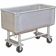 New Elevated Deck Stainless Steel Bulk Truck 500 Lb. Capacity