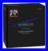 New Gorilla 9100 Motorcycle Cycle Alarm With 2 Way Pager