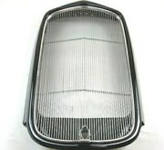 1932 Ford Steel Grill W Crank Hole And Grill Insert Complete Black W91002k