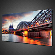 Cologne Cathedral Germany Canvas Picture Print Wall Art Home Decor Free Delivery