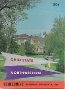 Rare 1968 Ohio State Program Signed By 7 Players National Championship Team
