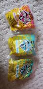 Mcdonalds 1994 Animaniacs Vehicles Lot Of 3 In Bag