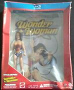 Wonder Woman 2009 Animated Feature Film Sdcc Exclusive Bluray Figurine Edition