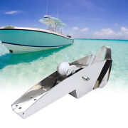 316 Stainless Steel Hinged Self-launching Bow Anchor Roller 16.5and039and039 Lower Price