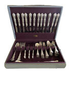 Wallace Irving Sterling Silver Set 12 Service 63 Pieces. Ships With Insurance.