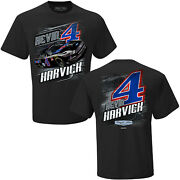 Kevin Harvick 2020 Checkered Flag Sports 4 Mobil 1 Camber Tee Free Ship