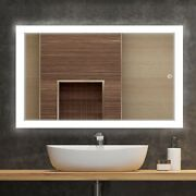 36 X 48 Led Bathroom Vanity Mirror Defogger ,on/off Touch Switch, Window Style