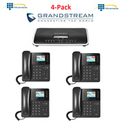 Grandstream Business Phone- Bundle- Ucm6204 + Gxp2135 W/ Free Shipping