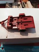 1969 Tootsie Toy Red Motorcycle Trailer