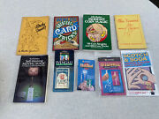 Magic Trick Lot Of 8 Empire Tricks, Cards, Magic Coin Books Free Shipping