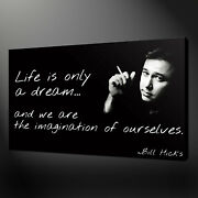 Bill Hicks Canvas Picture Printswall Art Variety Of Sizes Free Uk Pandp
