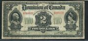 1914 2 Dominion Of Canada. 494652b. Dc-22a. No Seal. Curved Will Pay..