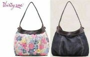 Thirty One City Skirt Purse Hobo Hand Tote Bag 31 Gift With 2 Skirts To Change