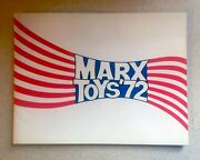 Vtg Vintage Original 1972 And03972 Louis Marx And Co. Toys Catalog 70 Pages Rare Htf