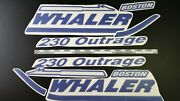 Boston Whaler Boat Emblem 29 Blue + Free Fast Delivery Dhl Express - Raised