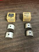 1937 1938 1939 Ford Flathead 60hp V8 Front And Center Standard Crank Bearings Nos