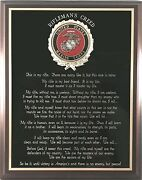 Us Marine Corps Gift Marine Riflemanand039s Creed Wall Plaque - Can Be Personalized