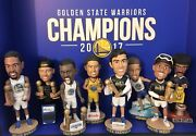 Golden State Warriors Bobblehead 2017-2018 Set + Ring + Trophy  Buy It Now