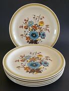 Country Living Arden Dinner Plates Japan 10 1/2 Set Of Six 6 Intand039l China