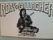 Rory Gallagher Armadillo World Head Q Austin Tx Concert Poster By Micael Priest