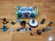 Skylander Lot Of 16 With Carry Bag Display Stand- Fast Shipping