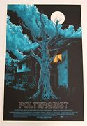 Poltergeist Mondo Poster By Ken Taylor Very Rare Limited Edition Screen Print