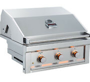 Sunstone Ruby Series 3 Burner Pro-sear 30andquot Natural Gas Grill