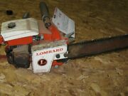 Vintage Lombard Lighting Chainsaw Great For Collectorsandnbsp