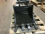 New 18 Heavy Duty Excavator Bucket For A Takeuchi Tb125 W/ Coupler Pins