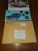 1966 Chevy Chevrolet Promotional Brochures And Packet Original B13