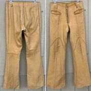 Vintage Handcrafted Leather Pants Articulos De Piel For Nbl Pitiquito Sonora Mex