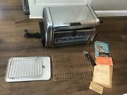 Roto-broil 400 Supreme Oven Bbq Roast Broils Grills Fries Toasts Electric