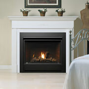 Kingsman Zcv3622 Vented Gas Fireplace Package Deal W/ Logs And Vent Kit - Milliv
