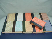 Decorative Library Display Readers Digest 11 Pattern Hc Vintage Book Lot