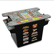 The Street Fighter Cocktail Arcade Table 17 Full-color Lcd Screen Brand New
