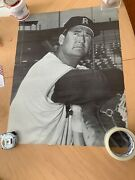 Vintage Ted Williams Photo Print From Fenway Park 23 1/2 X 18