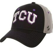 Ncaa Tcu Horned Frogs Menand039s Duo Hat X-large Black/gray College Basketball