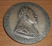 Germany 1932 Ar 56mm Medal For The 300 Years Of The Death Of Gustav Adolph