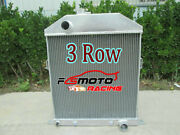 3 Row For 1942-1948 Ford Mercury Cars W/chevy Engine Pickup Aluminum Radiator