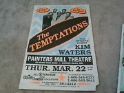 The Temptations Motown Boxing Style  Concert Poster