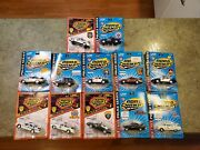 12 Vintage Collectible Road Champs Police Car Series 1/43 Scale New In Package